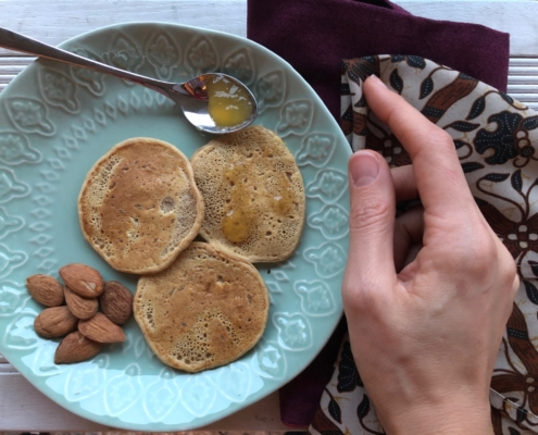 pancake di ceci